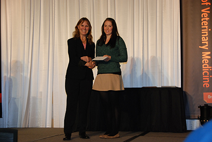 Nestlé Purina Companion Animal Nutrition Scholarship- Sue Tornquist, Jennifer Kelsey