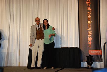 Dr. Joe and Jane Snyder Senior Award (vote of staff) - Dr. Joe SnyderKelsey Scanlan