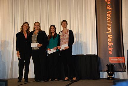 Pet Memorial Program Academic Excellence Award - Sue Tornquist, Christy Sandquist, Danielle ButlerRebecca Sullivan
