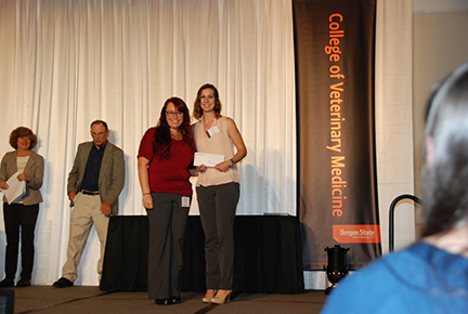 SCAVMA CVM Servant Leader Award - Alycia Jacobson, Sarah Jogi