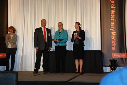 Zoetis Research Excellence Award - Mr. John Herkner, Dr. Jean Hall, Dr. Kristy Earley-Murray