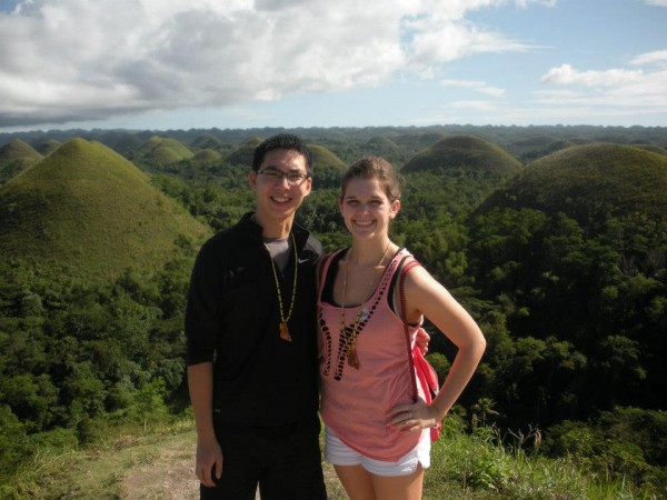 Willen Sin (left) and Lauren Hines (right) both studied abroad fall term.