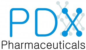 Logo for MBA grad Yantasee's PDX Pharmaceuticals