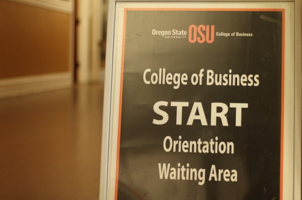 Oregon State University College of Business START 2014