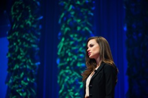Emily Calandrelli talked about the importance of STEM education.