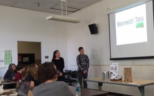 Danielle Lucia and Gabe Fleck talk about their Northwest Trek product line of hiking accessories.