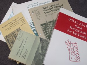 A sampling of silviculture manuals dating from the 1970's and 80's