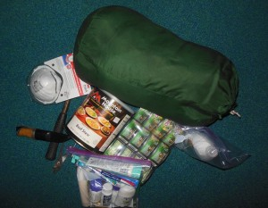 Some supplies recommended for emergency preparedness