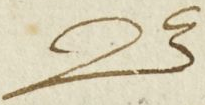 "The capital letter ""B"" in a 16th century French manuscript, MS 640."