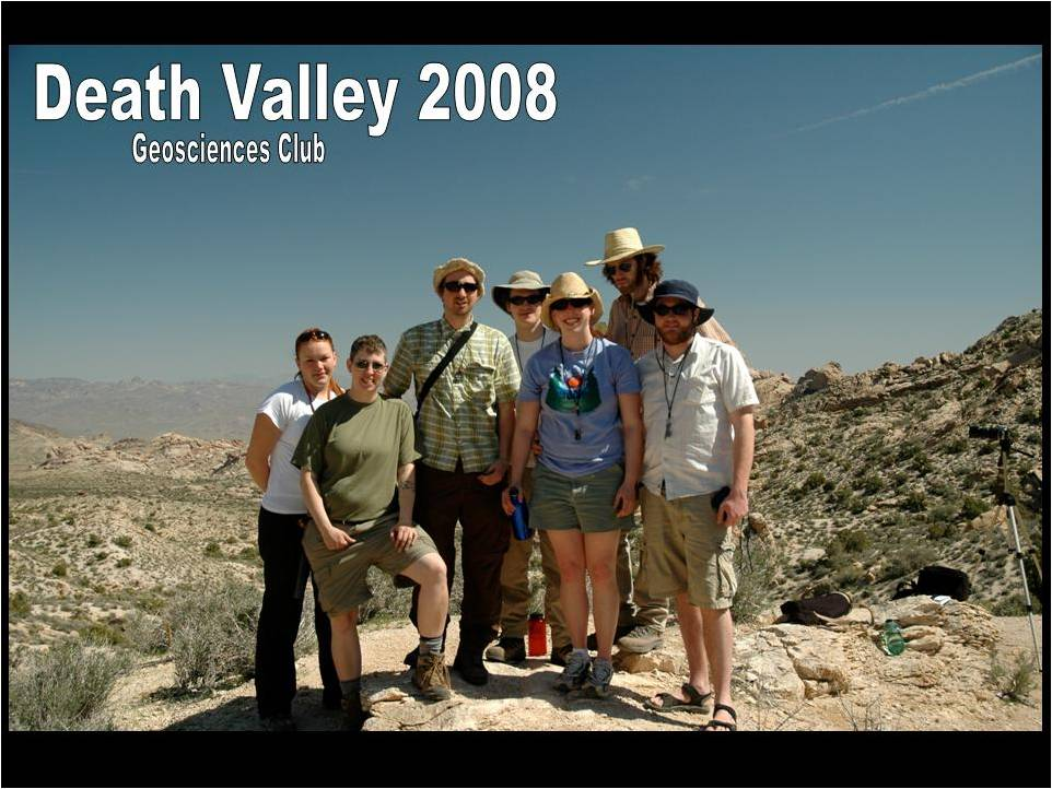The club at the Spirit Mountain Batholith, a ~17-15 million year old granitic intrustion. Barry Walker got his masters degree stydying this batholith at Venderbilt University, and since the club was only ~2 hours away, they decided to stop by and have a look for a day.