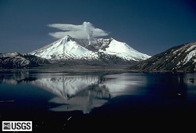 Mount St. Helens (Photo courtesy of the U.S. Geological Survey)
