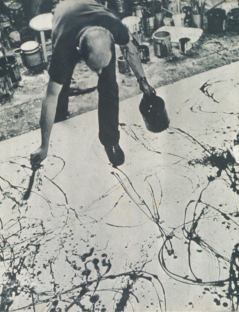 Linda's Window: The Next Jackson Pollock
