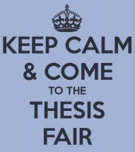 thesis fair