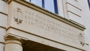 Not only is there an art in knowing a thing, but also a certain art in teaching it. -Cicero