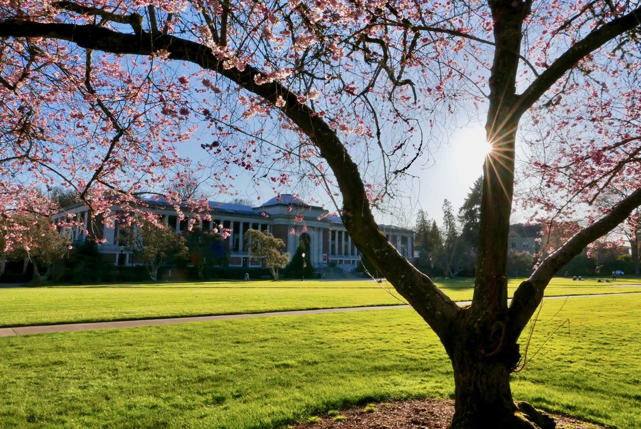 MU Quad at Oregon State University