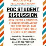 POC Student Event