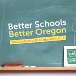 Logo for Chalkboard Project: Better Schools, Better Oregon