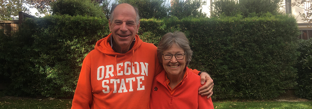 Leveling The Playing Field: Honors College Champions Carol and Rich Pickard