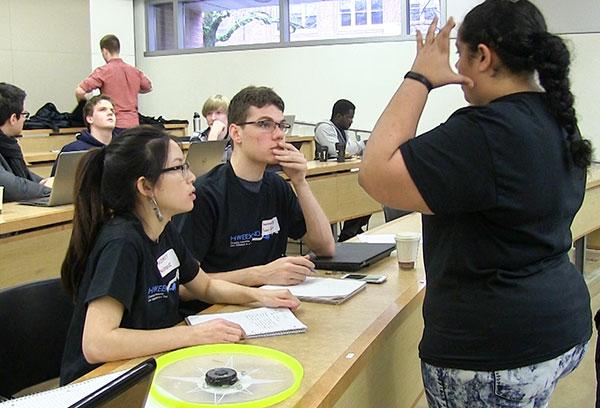 Students at HWeekend