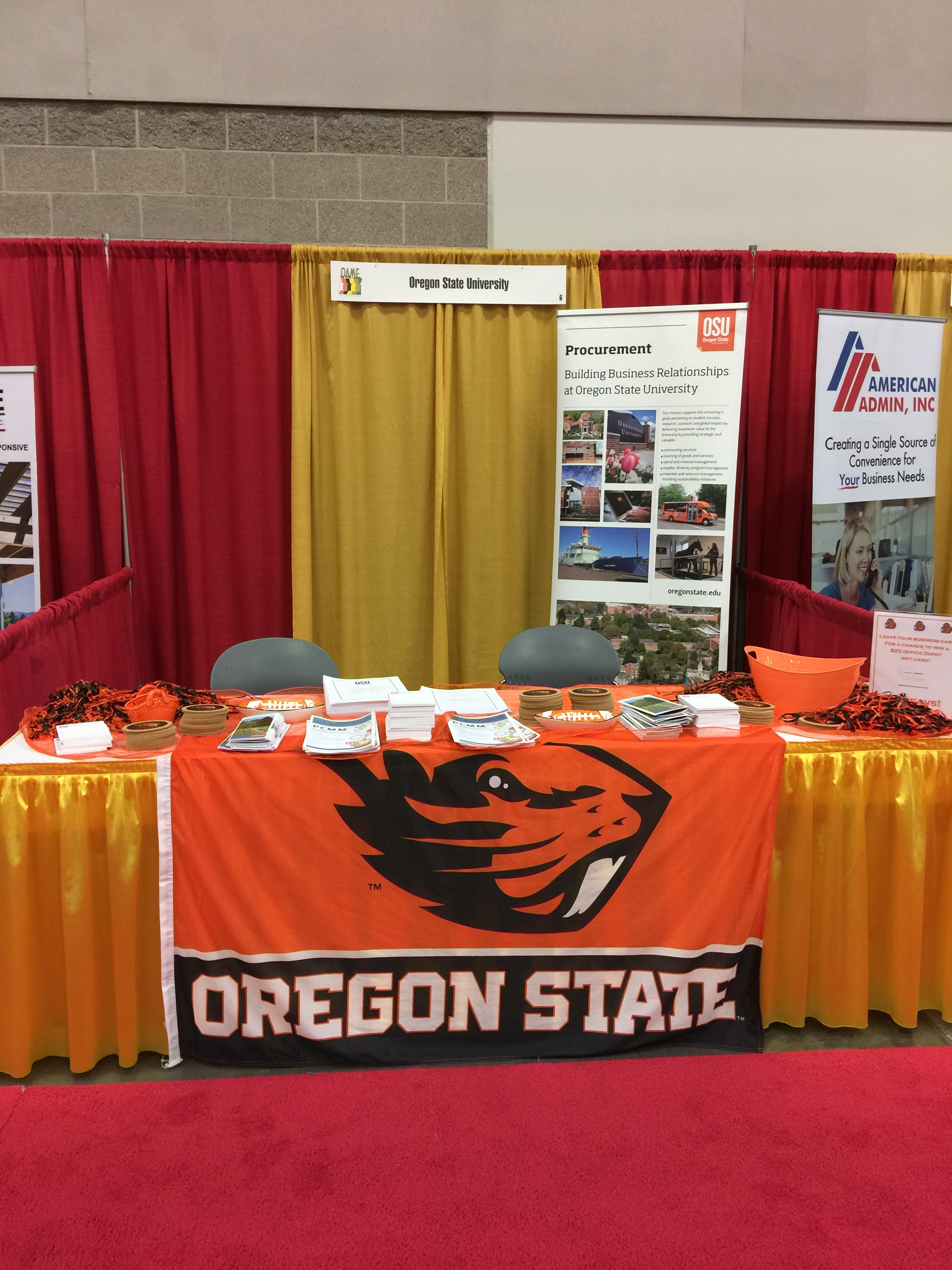 Oregon State University ready for business!