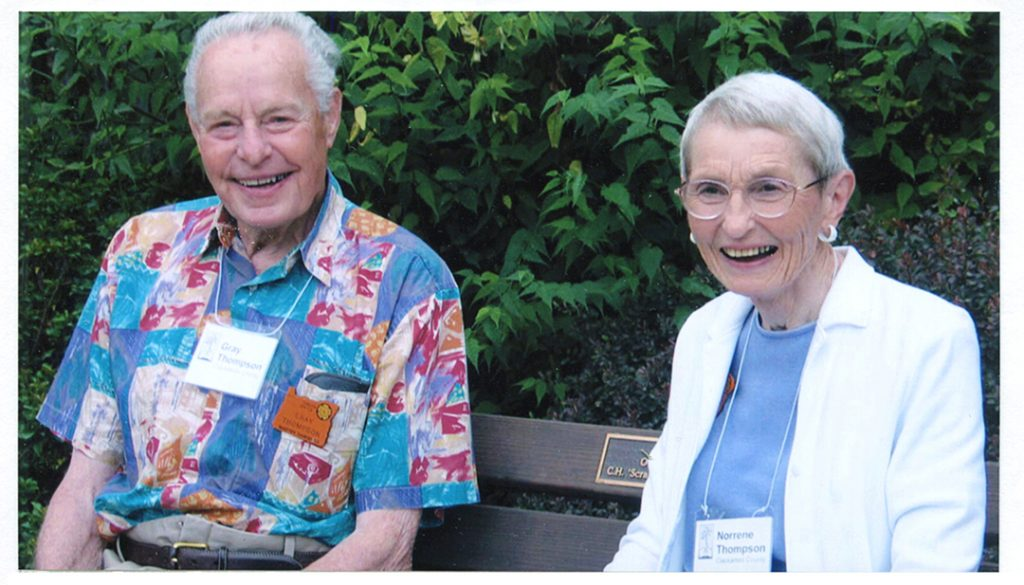 Gray and Norreen Thompson, 2005