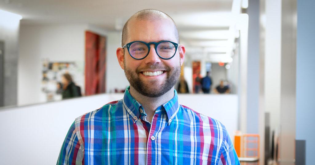 Researcher Sam Logan