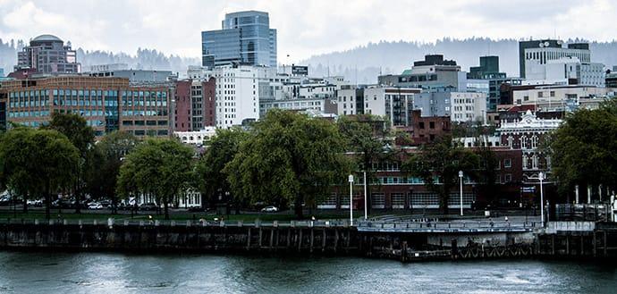 view of Portland, Oregon