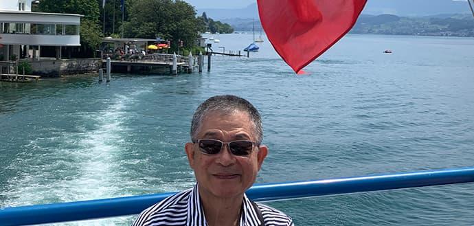 Chunhuei Chi at Lake Zurich in 2019