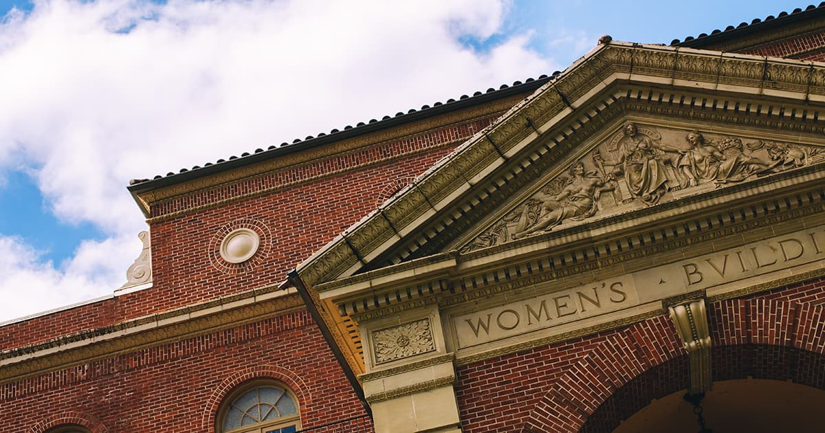 Top of Women's Building at Oregon State University