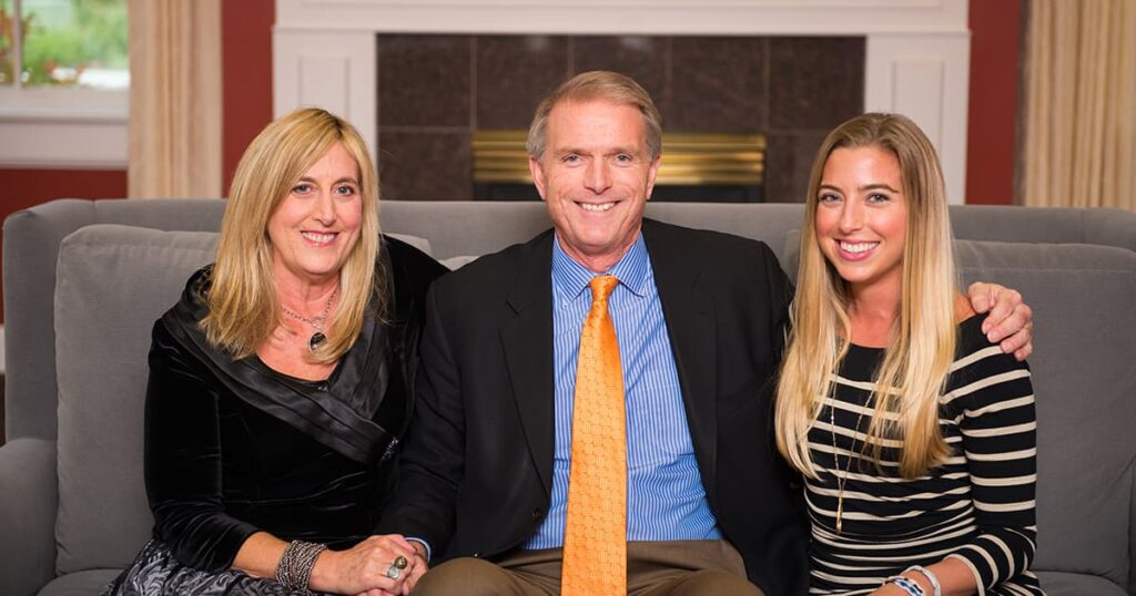 Barabara, Dave and Julie Underriner
