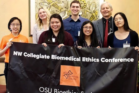 Science students helm inaugural biomedical ethics conference