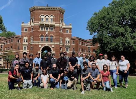 Juntos Chemistry Camp sparks STEM ambition in high-school students