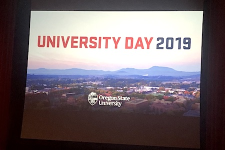 Seven science faculty recognized for excellence at 2019 University Day