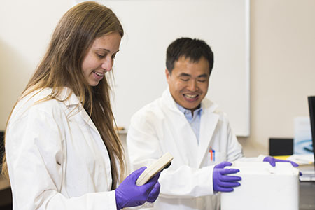 Focusing on research full-time helps BioHealth Science student get to the 'why' behind the 'what'