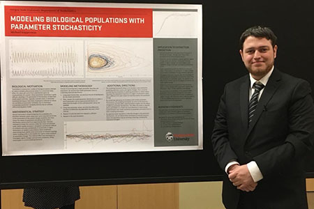 Prestigious research internship opens new possibilities for double-major science student