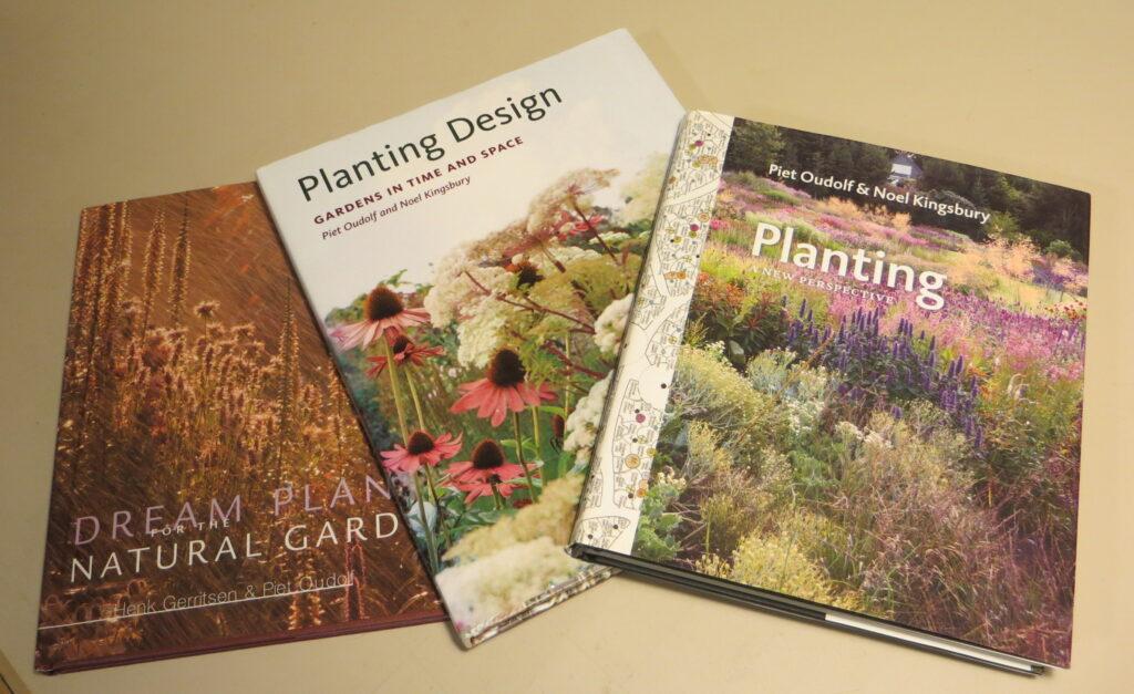 Several Piet Oudolf books