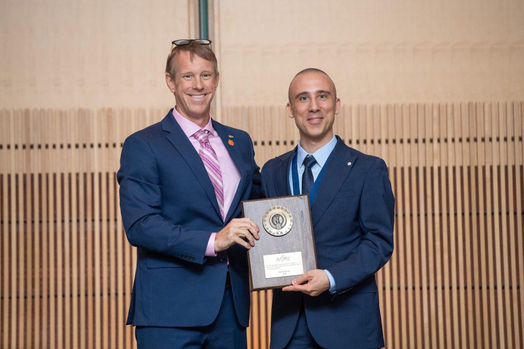 Burak Sencer receives Blackall Award.