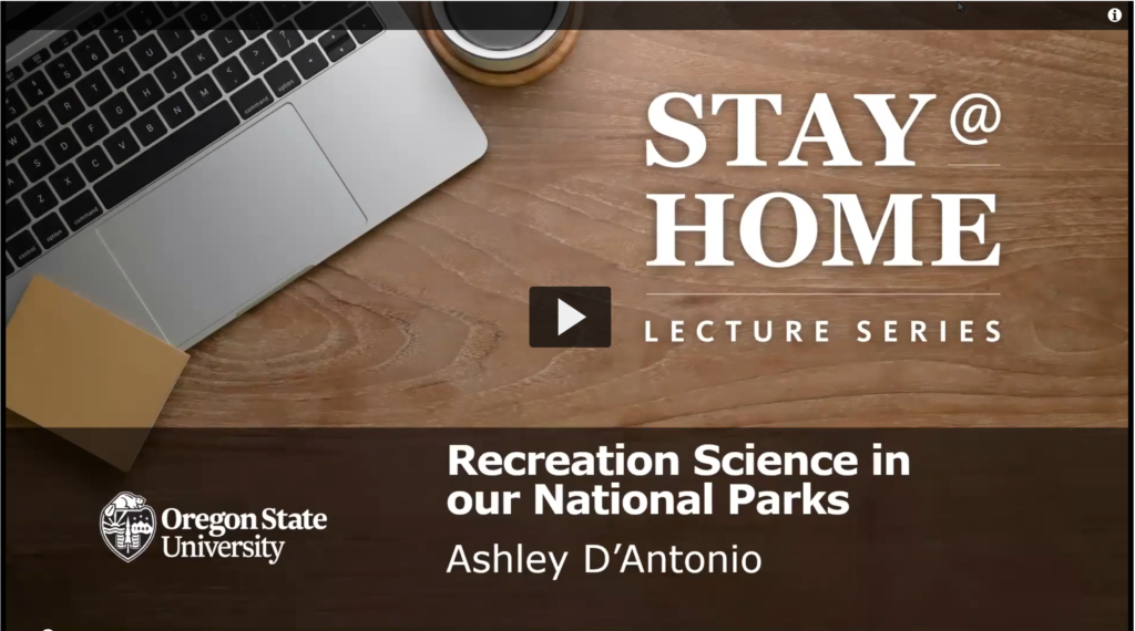 Watch the video of Ashley D' Antonio's presentation.