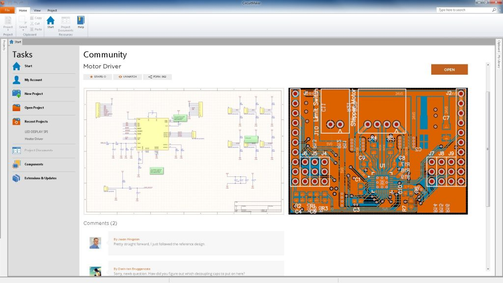 Circuit Maker Pcb Design Toola Community Of Practice Analog And Power Systems