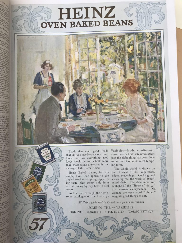 1918 Heinz Advertisement