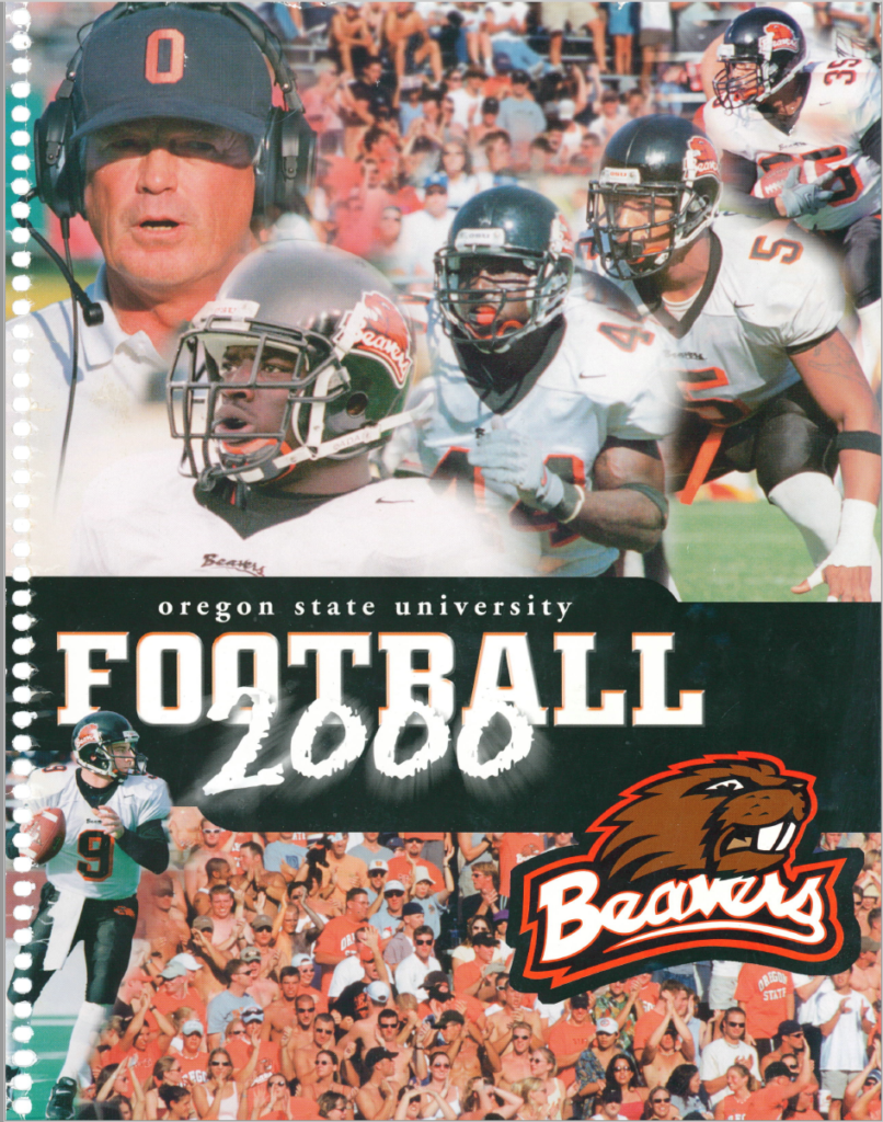 Taking the Conference 2000 Greatest Oregon State Football Plays Poster