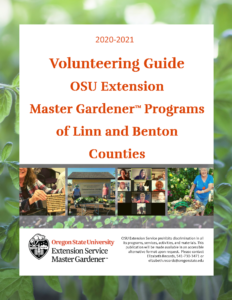 Cover of Volunteering Guide with images of gardeners having fun