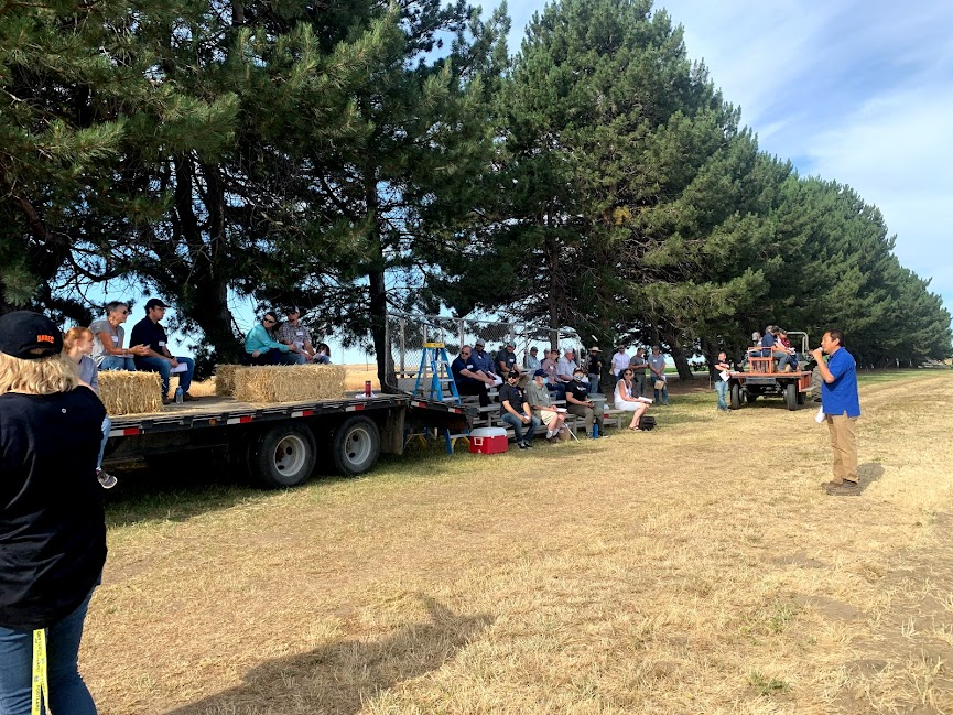 Potato Field Day was held at the Hermiston Agricultural Research and Extension Center in June.