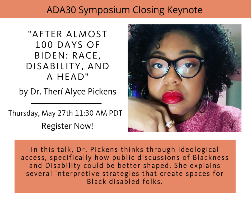 This is a flyer promoting Dr. Picken's closing keynote talk