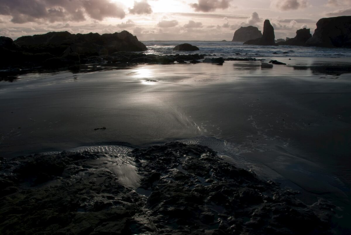 Face Rock at the Oregon Coast