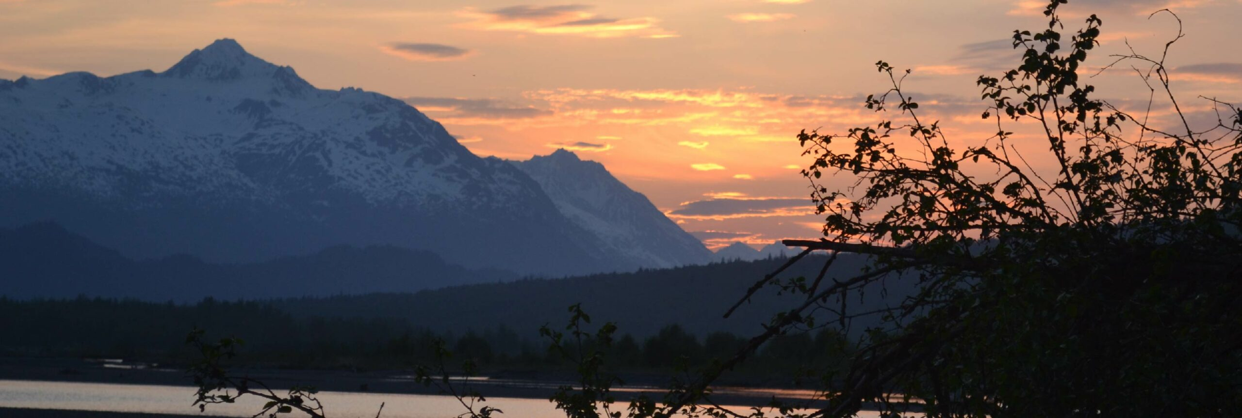 chilkat sunset