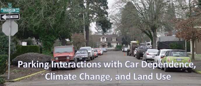 cars parked along a Corvallis street